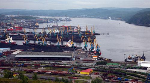 Мурманск — морской порт