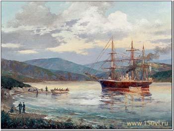 Транспорт «Маньчжур» 2 июля 1860 г. вошел в бухту Золотой Рог